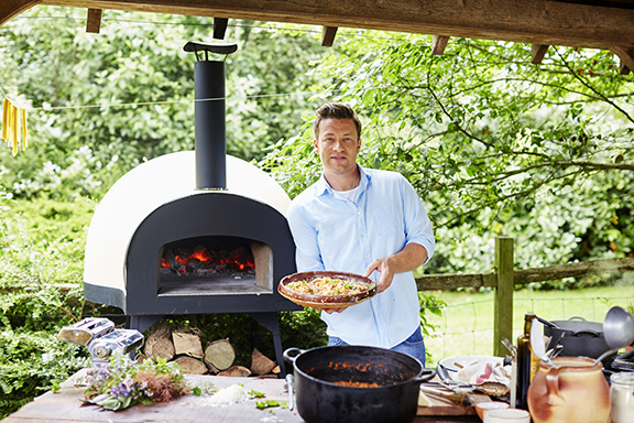 jamie oliver vedfyrt pizzaovn dome 60 original hytte fritidsbutikken solbua. Black Bedroom Furniture Sets. Home Design Ideas