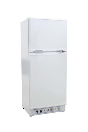 Gasskjøleskap til hytte